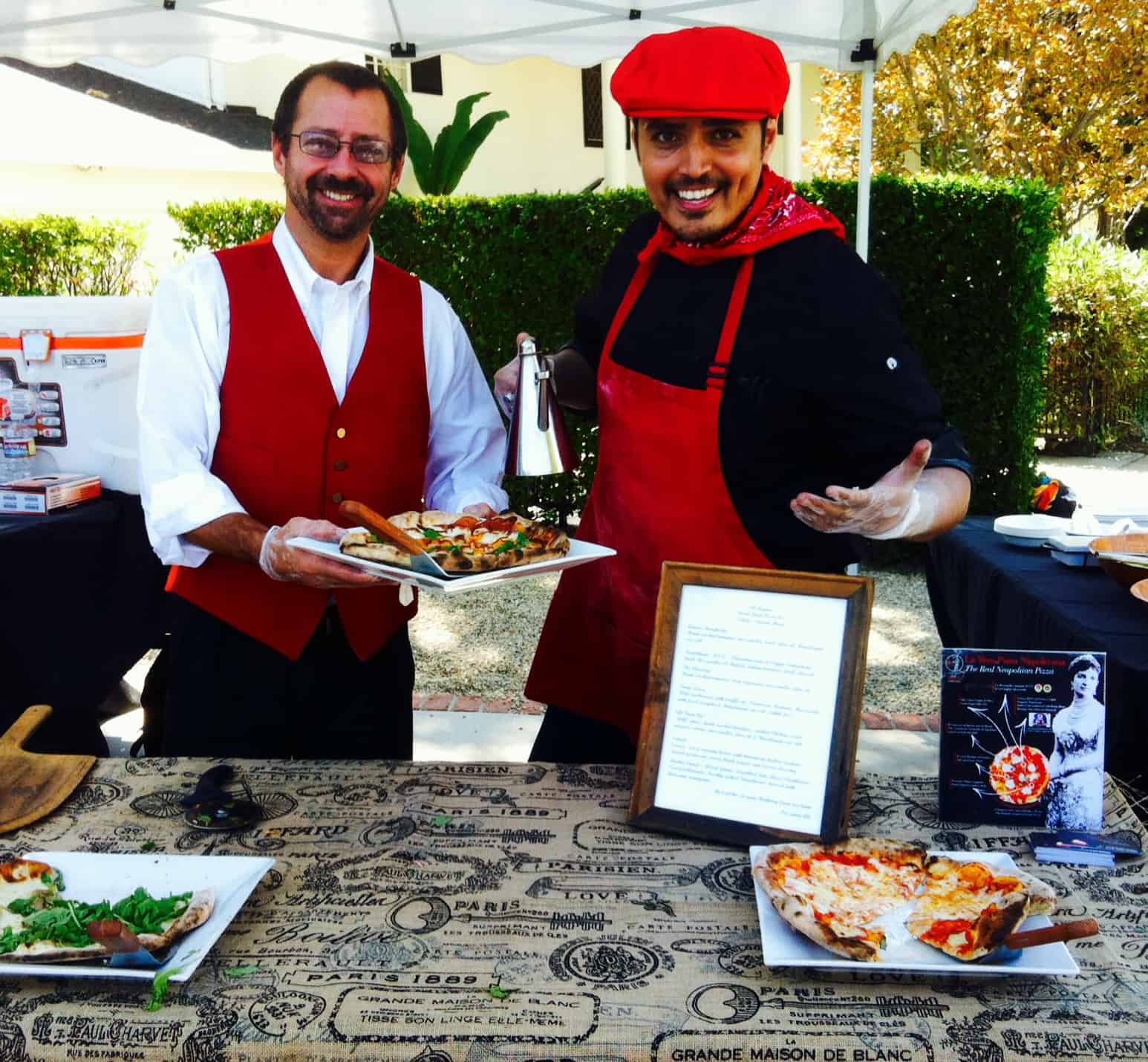 Offering pizza catering and stone over pizza catering los angeles